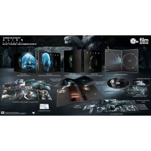ALIEN: COVENANT Limited Collector's Numbered Edition Exclusive Steelbook + BOOKLET + Special & Character CARDS (BLU-RAY)