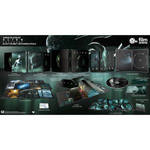 ALIEN: COVENANT Limited Collector's Numbered Edition Exclusive Steelbook + PHOTOBOOK + Special & Character CARDS (BLU-RAY)