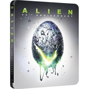 ALIEN Theatrical Cut & Director's Cut - ΑΛΙΕΝ: Ο ΕΠΙΒΑΤΗΣ ΤΟΥ ΔΙΑΣΤΗΜΑΤΟΣ Theatrical Cut & Director's Cut [Imported] 40th Anniversary Limited Edition Steelbook (4K UHD BLU-RAY + BLU-RAY)