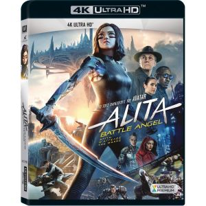 ALITA: BATTLE ANGEL 4K (4K UHD BLU-RAY)