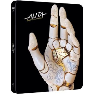 ALITA: BATTLE ANGEL Limited Edition Steelbook (BLU-RAY) + GIFT Steelbook PROTECTIVE SLEEVE