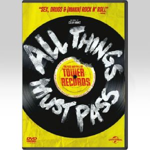 ALL THINGS MUST PASS: THE RISE AND FALL OF TOWER RECORDS (DVD)