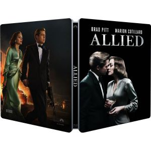 ALLIED - Limited Edition Steelbook (BLU-RAY) + GIFT Steelbook PROTECTIVE SLEEVE