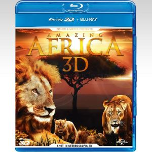 AMAZING AFRICA 3D (BLU-RAY 3D/2D)
