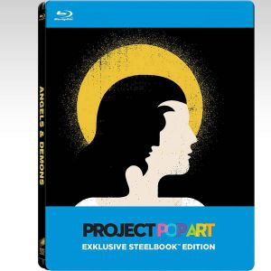 ANGELS AND DEMONS Theatrical & Extended Pop Art Limited Edition Steelbook (BLU-RAY)