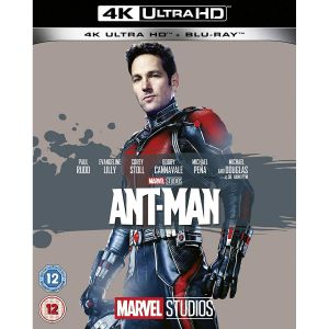 ANT-MAN [Imported] (4K UHD BLU-RAY + BLU-RAY)
