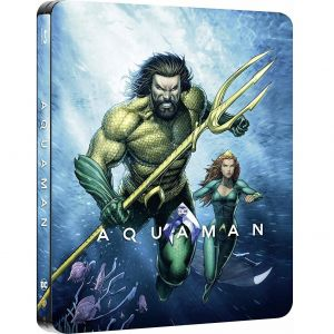 AQUAMAN 2D Limited Edition Steelbook ΑΠΟΚΛΕΙΣΤΙΚΟ (BLU-RAY 2D)