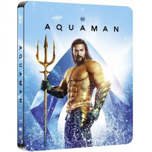 AQUAMAN 3D+2D Limited Edition Steelbook (BLU-RAY 3D + BLU-RAY 2D)