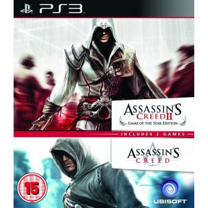 ASSASSIN'S CREED 1 & ASSASSIN'S CREED 2 - COMPILATION (PS3)