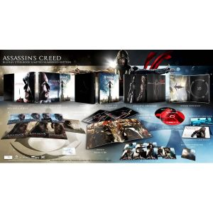 ASSASSIN'S CREED 3D Limited Collector's Numbered Edition Steelbook + PHOTOBOOK (BLU-RAY 3D + BLU-RAY)