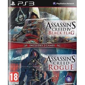 ASSASSIN'S CREED IV: BLACK FLAG & ASSASSIN'S CREED: ROGUE - COMPILATION (PS3)