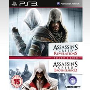ASSASSIN'S CREED REVELATIONS & ASSASSIN'S CREED BROTHERHOOD (PS3)