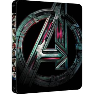AVENGERS 2: AGE OF ULTRON 3D Limited Edition Steelbook [Imported] (BLU-RAY 3D + BLU-RAY)