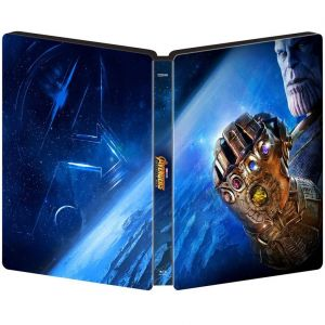 AVENGERS 3: INFINITY WAR 3D+2D Limited Edition Steelbook [Imported] (BLU-RAY 3D + BLU-RAY 2D)