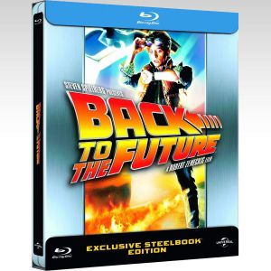 BACK TO THE FUTURE 1 Limited Edition Steelbook [Imported] (BLU-RAY)
