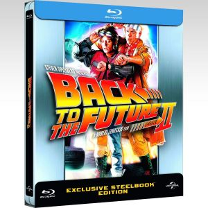 BACK TO THE FUTURE 2 Limited Edition Steelbook [Imported] (BLU-RAY)