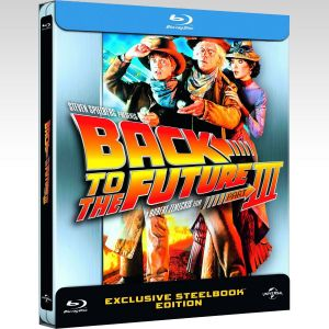 BACK TO THE FUTURE 3 Limited Edition Steelbook [Imported] (BLU-RAY)