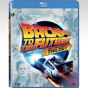 BACK TO THE FUTURE Trilogy 30th ANNIVERSARY (4 BLU-RAYs)