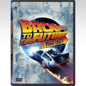 BACK TO THE FUTURE Trilogy 30th ANNIVERSARY (4 DVDs)