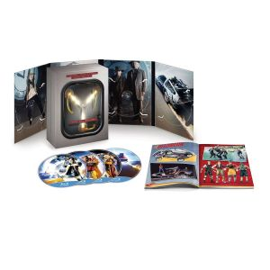 BACK TO THE FUTURE Trilogy 30th ANNIVERSARY Flux Capacitor Limited Collector's Edition [Imported]  (4 BLU-RAYs)
