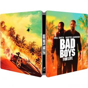 BAD BOYS FOR LIFE 4K Limited Edition Steelbook (4K UHD BLU-RAY)