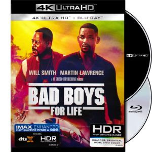 BAD BOYS FOR LIFE 4K+2D (4K UHD BLU-RAY + BLU-RAY 2D)