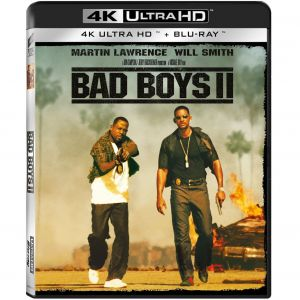 BAD BOYS II 4K+2D (4K UHD BLU-RAY + BLU-RAY 2D)