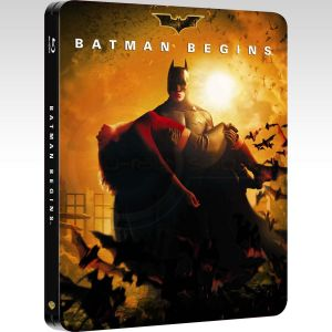 BATMAN BEGINS Limited Collector's Edition Steelbook [Imported] (BLU-RAY)
