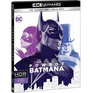 BATMAN RETURNS [1992] [Imported] (4K UHD BLU-RAY + BLU-RAY)