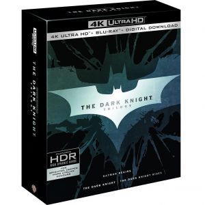 BATMAN: THE DARK KNIGHT Trilogy 4K [Imported] (4K UHD BLU-RAY)