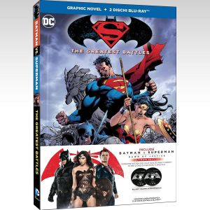 BATMAN V SUPERMAN: DAWN OF JUSTICE Extended Unrated Cut ULTIMATE EDITION Graphic Novel - BATMAN V SUPERMAN: Η ΑΥΓΗ ΤΗΣ ΔΙΚΑΙΟΣΥΝΗΣ Extended Unrated Cut ULTIMATE EDITION Graphic Novel [Εισαγωγής ΜΕ ΕΛΛΗΝΙΚΟΥΣ ΥΠΟΤΙΤΛΟΥΣ] (2 BLU-RAYs)