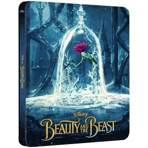 BEAUTY AND THE BEAST [2017] 3D Limited Edition Steelbook (BLU-RAY 3D + BLU-RAY)