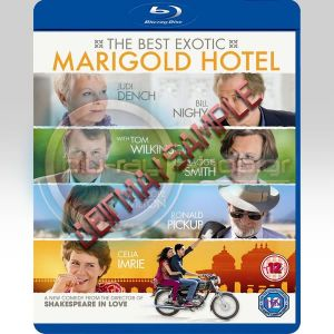BEST EXOTIC MARIGOLD HOTEL (BLU-RAY)