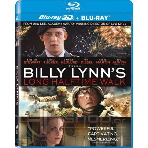 BILLY LYNN'S LONG HALFTIME WALK 3D - ΜΙΑ ΑΠΙΘΑΝΗ ΔΙΑΔΡΟΜΗ ΣΤΗ ΖΩΗ ΤΟΥ BILLY LYNN 3D (BLU-RAY 3D + BLU-RAY)