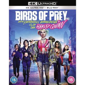 BIRDS OF PREY (4K UHD BLU-RAY + BLU-RAY)