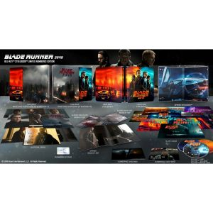 BLADE RUNNER 2049 3D+2D Limited Collector's Numbered Edition Exclusive Steelbook + BOOKLET + Art & Special CARDS (BLU-RAY 3D + BLU-RAY 2D + BLU-RAY BONUS)