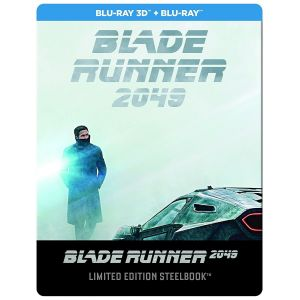 BLADE RUNNER 2049 3D+2D Limited Edition Steelbook EXCLUSIVE [Imported] (BLU-RAY 3D + BLU-RAY 2D)