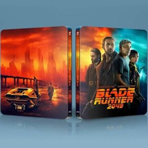 BLADE RUNNER 2049 4K+3D+2D Limited Edition Exclusive Steelbook (4K UHD BLU-RAY + BLU-RAY 3D + BLU-RAY 2D)