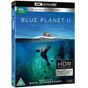 BLUE PLANET II 4K+2D (4K UHD BLU-RAY + BLU-RAY)
