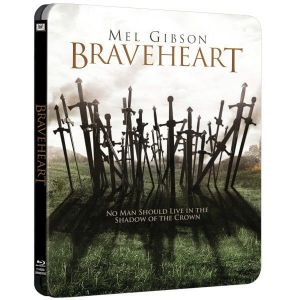 BRAVEHEART Limited Collector's Edition Steelbook NEW VISUAL [Εισαγωγής ΜΕ ΕΛΛΗΝΙΚΟΥΣ ΥΠΟΤΙΤΛΟΥΣ] (BLU-RAY)