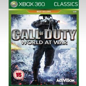 CALL OF DUTY WORLD AT WAR - CLASSICS (XBOX 360)
