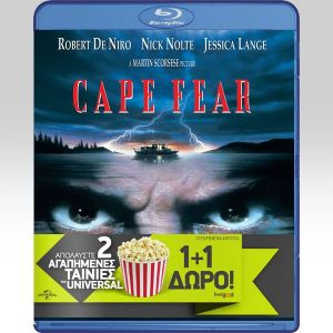 CAPE FEAR 1991 / CAPE FEAR 1962 Double Pack (2 BLU-RAYs)