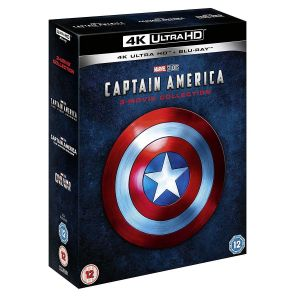 CAPTAIN AMERICA 3-MOVIE COLLECTION 4K+2D [ΧΩΡΙΣ ΕΛΛΗΝΙΚΟΥΣ ΥΠΟΤΙΤΛΟΥΣ] (4K UHD BLU-RAY + BLU-RAY)