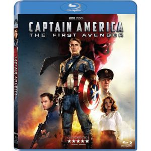 CAPTAIN AMERICA: THE FIRST AVENGER (BLU-RAY) ***MARVEL EXCLUSIVE***