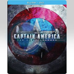 CAPTAIN AMERICA: THE FIRST AVENGER STEELBOOK COMBO - CAPTAIN AMERICA: Ο ΠΡΩΤΟΣ ΕΚΔΙΚΗΤΗΣ STEELBOOK COMBO (BLU-RAY STEELBOOK +DVD)
