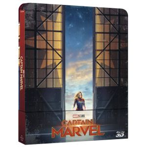 CAPTAIN MARVEL 3D+2D Limited Edition Steelbook ΑΠΟΚΛΕΙΣΤΙΚΟ [Imported] (BLU-RAY 3D + BLU-RAY)