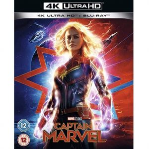 CAPTAIN MARVEL 4K+2D [Imported] (4K UHD BLU-RAY + BLU-RAY)