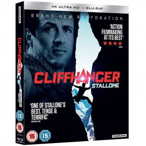 CLIFFHANGER 4K+2D [Imported] (4K UHD BLU-RAY + BLU-RAY)