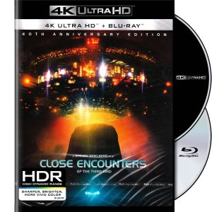 CLOSE ENCOUNTERS OF THE THIRD (3rd) KIND 4K+2D - ΣΤΕΝΕΣ ΕΠΑΦΕΣ ΤΡΙΤΟΥ ΤΥΠΟΥ 4K+2D 40th Anniversary (4K UHD BLU-RAY + BLU-RAY 2D)