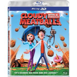 CLOUDY WITH A CHANCE OF MEATBALLS 3D (BLU-RAY 3D)  ***SONY EXCLUSIVE***